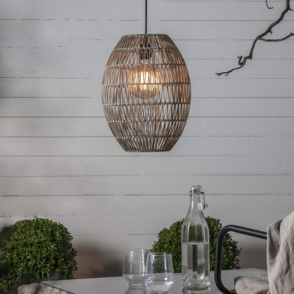 Lampskärm Linde 40cm Beige