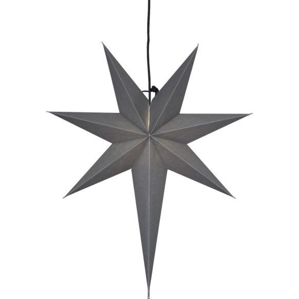 Ozen adventsstjärna 66cm grå