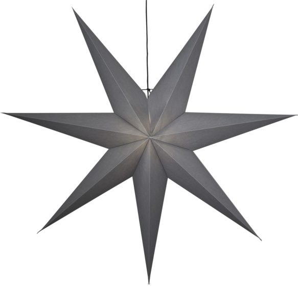 Ozen adventsstjärna 140cm grå