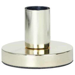 GLANS lampfot mässing 8,5 cm i metall