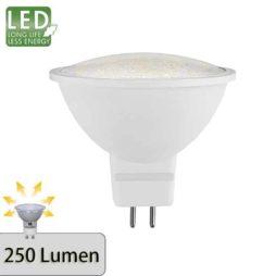 Promo LED GU5,3 12V 2900K 3,3W 120°