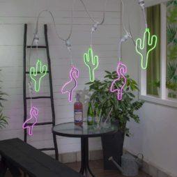 Connecta ljusslinga Cactus