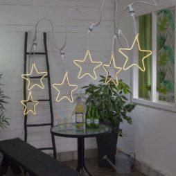Connecta ljusslinga Stjärna