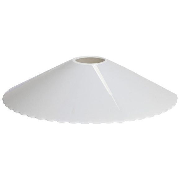 Connecta 5-pack lampskärm i vit plast