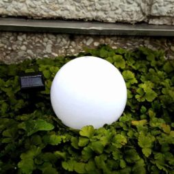 Solcellsbelysning trädgårdsklot 20 cm