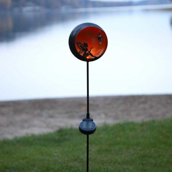 Fairytale solcellsdekoration orange