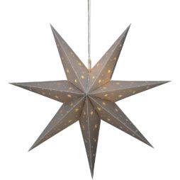 Adventsstjärna för utomhusbruk 60cm Silver