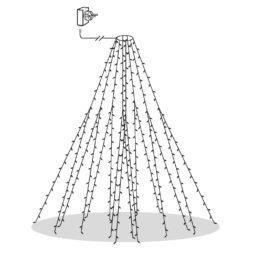 Serie LED granslinga 8x2m 360 LED