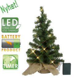 Bordsgran 45cm 10LED batteridriven grön