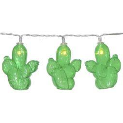 Batteridriven ljusslinga fruity kaktus med timer funktion