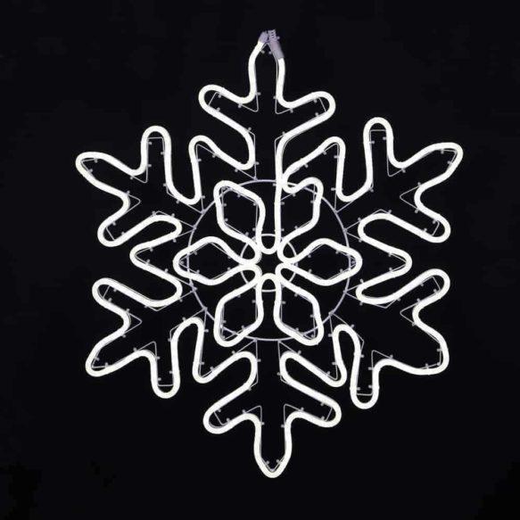 Vit siluett snöflinga för utomhusbruk