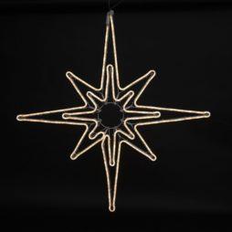 Siluett Neoled Stjärna 85 cm 360 LED