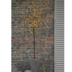 Tobby Tree dekorationsträd LED 110cm brun