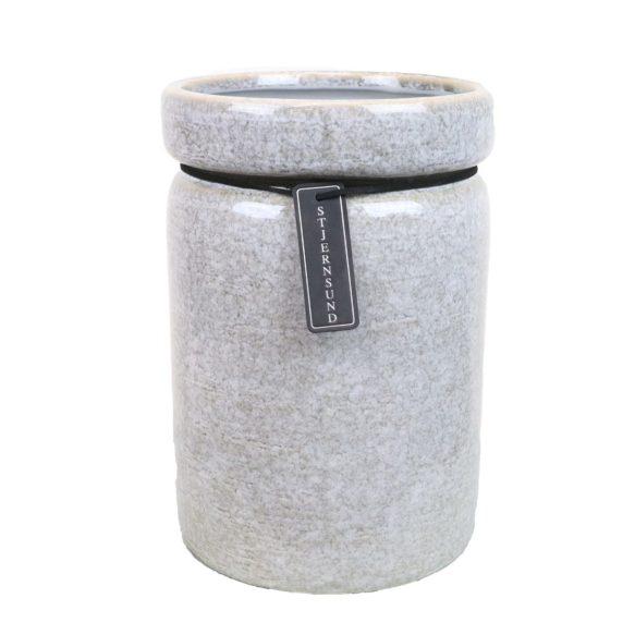 Stjernsund kruka trend 20cm grå