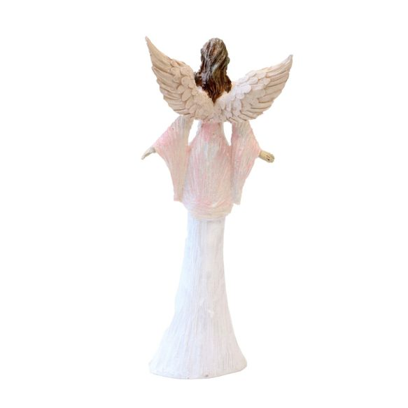 Ängel dekoration 35cm rosa