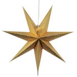 Dot Star 70cm pappersstjärna guld