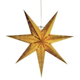 Antique hängande stjärna guld 60 cm