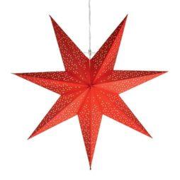 Dot Star 54cm pappersstjärna röd