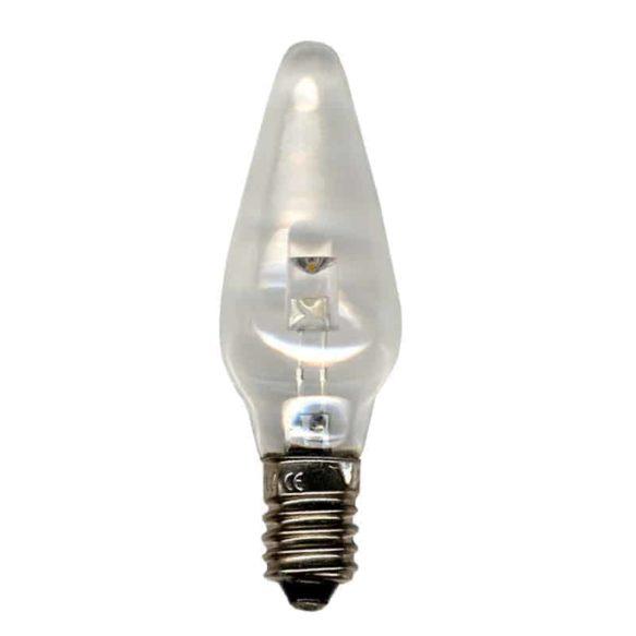 Universal LED Bulb E10 10-55V klar 3-pack