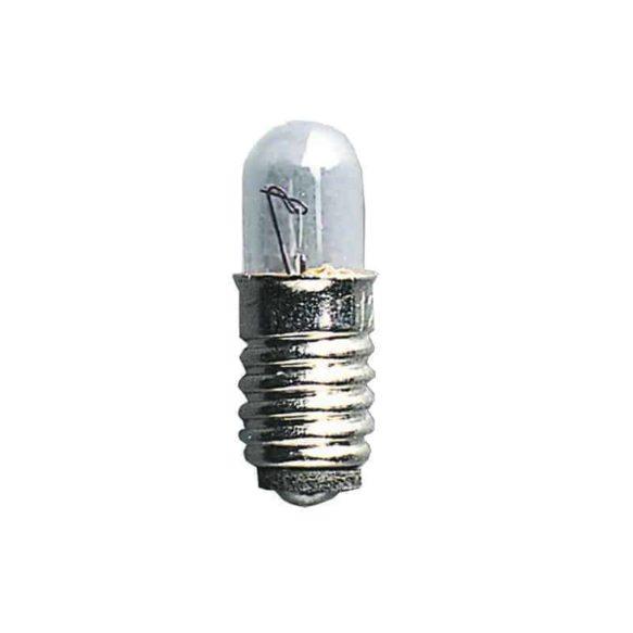 Microlampa E5 12V 0,6W klar